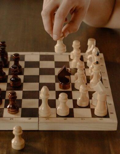 Als Resilienz-Coach zeige ich die richtigen Schachzüge